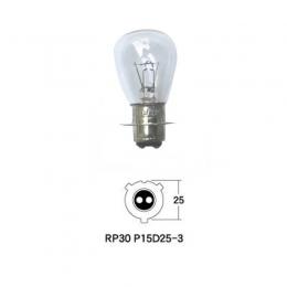 Lampara Moto Tecsonic Rp30 P15d-25-3 12v 35/35w