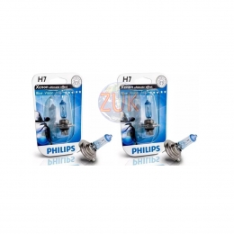 Kit 2 Lamparas Philips Tipo Xenon H7 12v 55w B12972BV