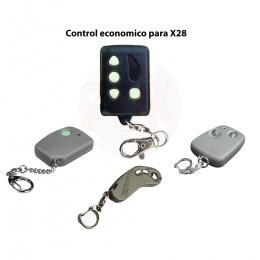 Control Remoto Comando no original X28 Linea E - F - G - L - T