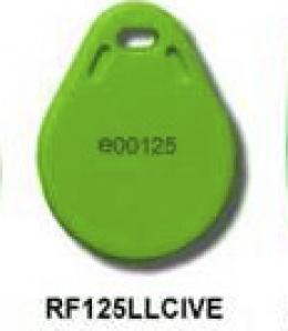 Copia Tag RFID circular verde 125Khz