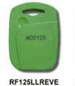 Copia Tag RFID rectangular verde 125Khz