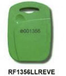 Copia Tag RFID rectangular verde 13,56Khz